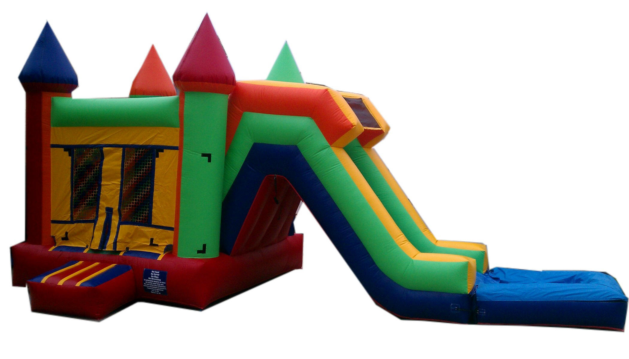 Jumper Water Slide Combo